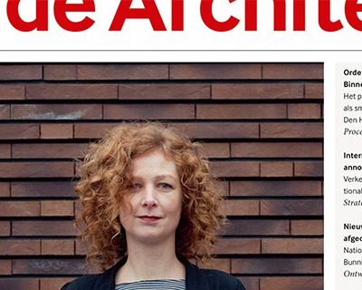Covergirl voor de Architect