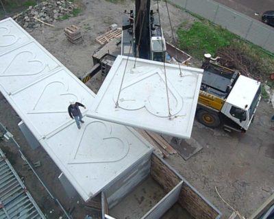 Start bouw Zwatraflat Rotterdam