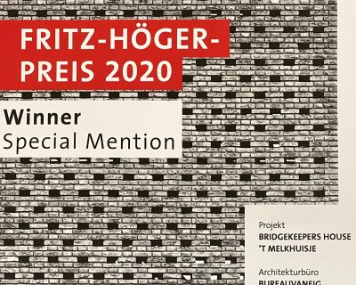 Special Mention Fritz Höger Award
